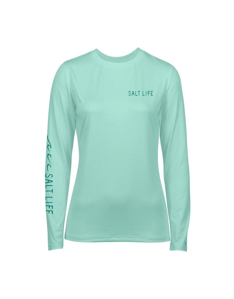 Saltlife LLC SaltLife Ladies LS Tropical Escape