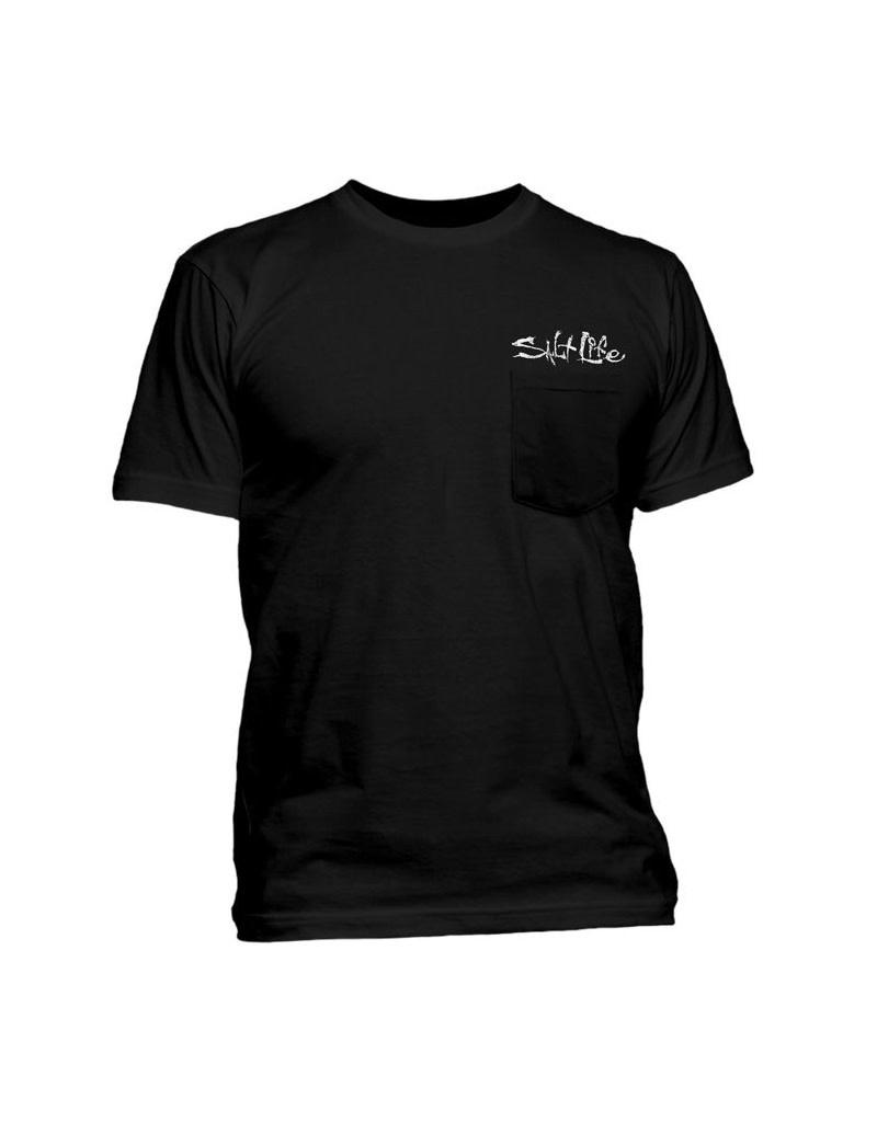 Saltlife LLC SaltLife Mens Skull T