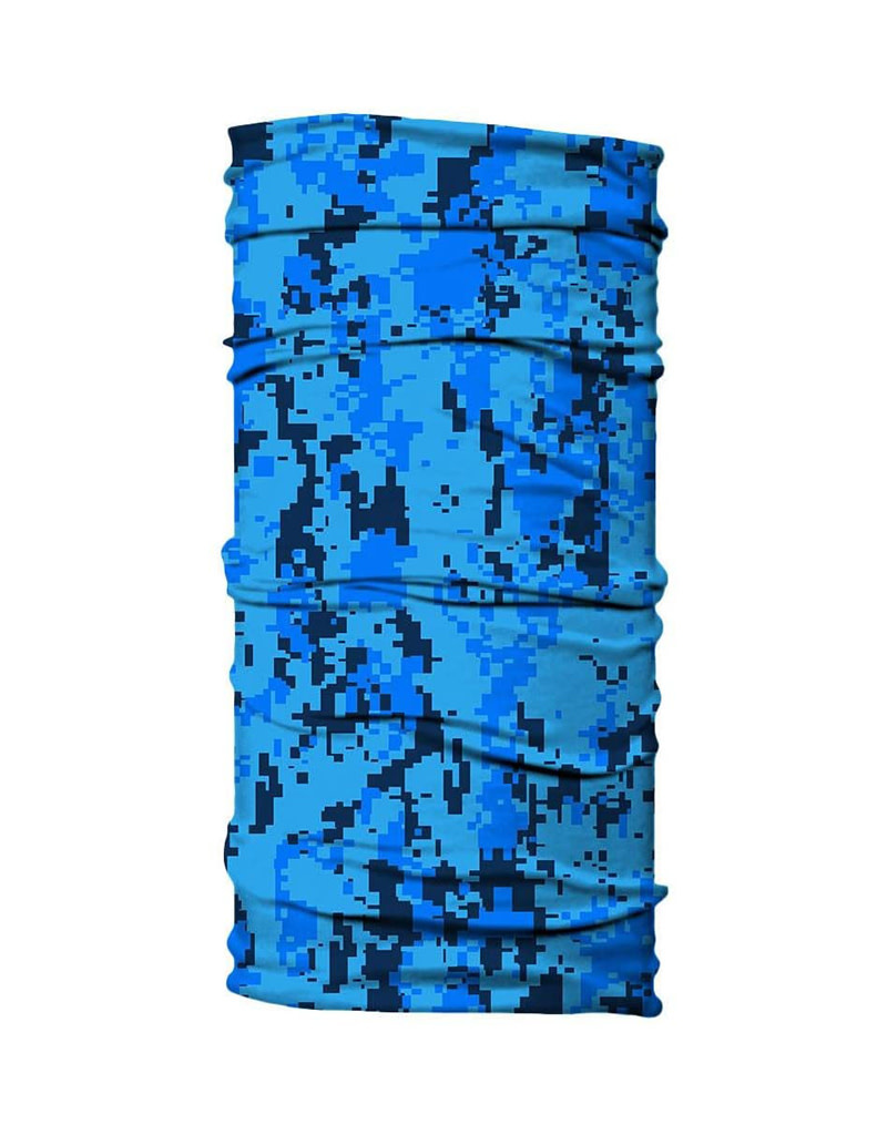 Born of Water Born of Water Neck Gaiter Digital Camo - Blue