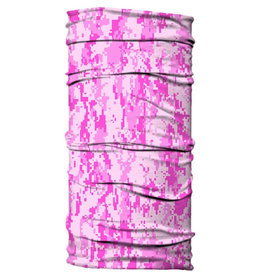 Born of Water Born of Water Neck Gaiter Dig Camo - Pink