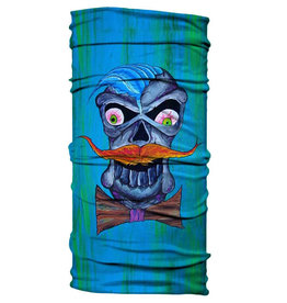 Born of Water Born of Water Neck Gaiter Dapper Skull