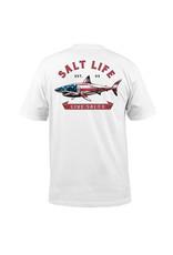 Saltlife LLC SaltLife Mens Red White and Bite