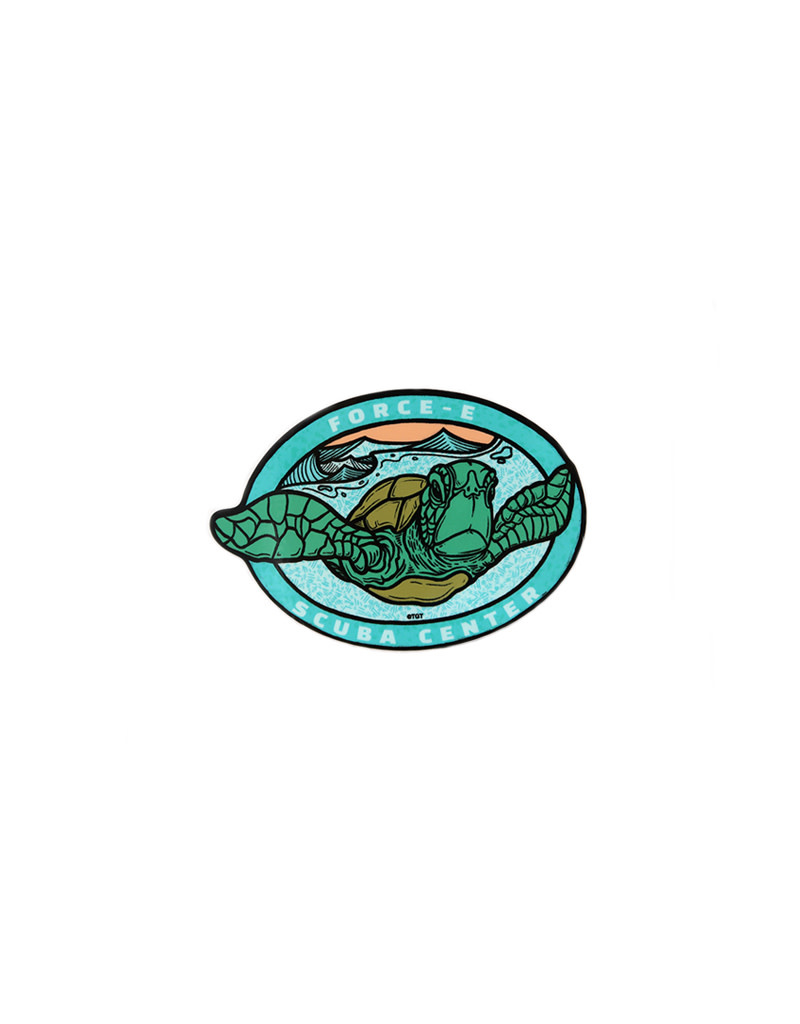 TGT Force-E Turtle Sticker