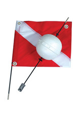 Marine Sports Mfg. Flag & Float 2 pc - Marine Sports