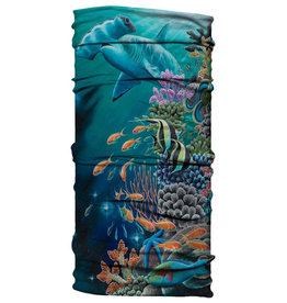 Born of Water Born of Water Neck Gaiter Living Reef