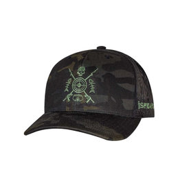Born of Water Speared Bullseye Hat -CAMO