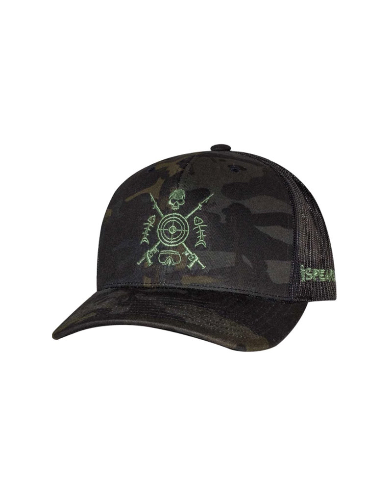 Born of Water Speared Bullseye Hat -CAMO