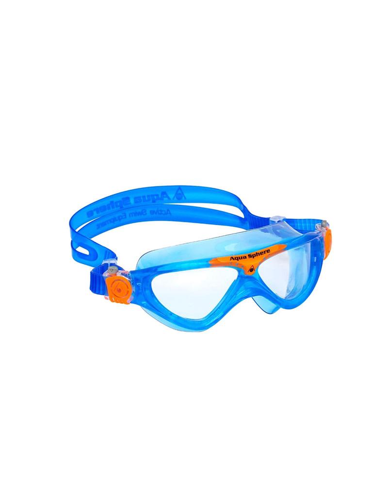 AquaLung Aqua Sphere Vista Jr Goggle Clr/Blu