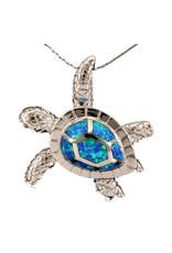 Jessie Jessup Apparel LLC JessieJessup Blue Turtle Necklace