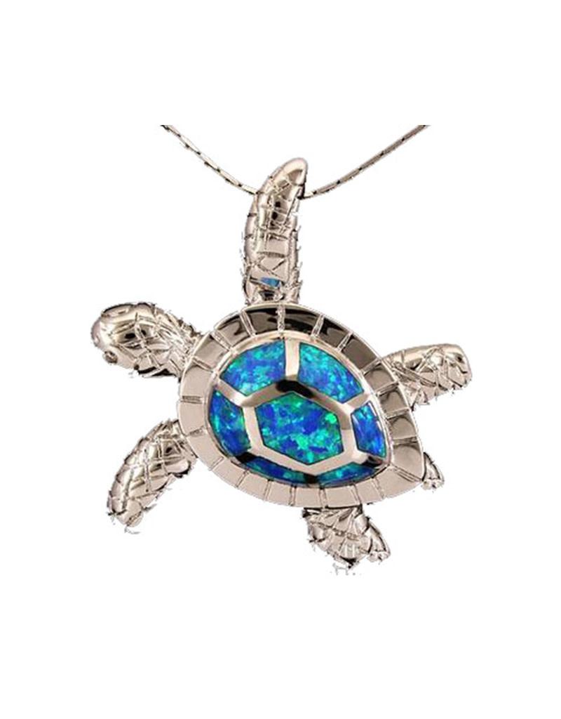Jessie Jessup Apparel LLC JessieJessup Opal Turtle Pendant