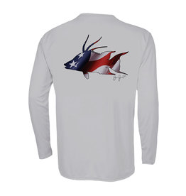 Jessie Jessup Apparel LLC JessieJessup Mens LS USA Hogfish