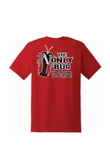 Stoked on Salt SOS The Only Bug T-Shirt Red