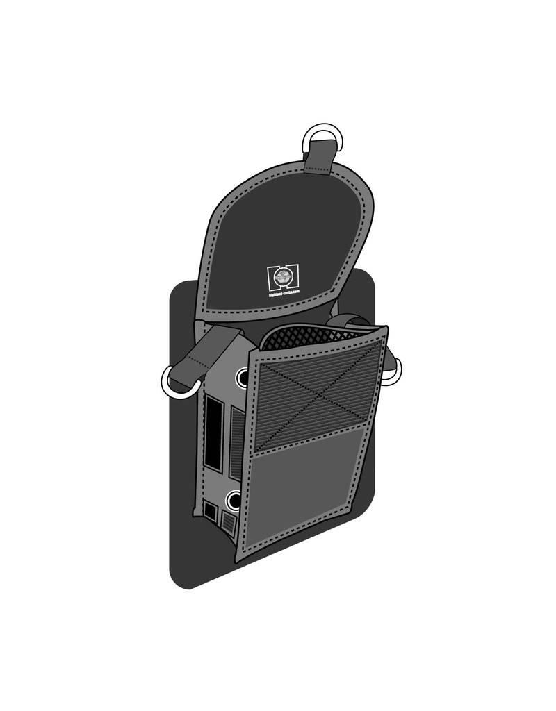 XS Scuba XS Scuba Highland Glue-On Thigh Pocket