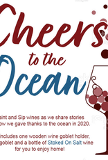 Stoked on Salt Cheers to the Ocean: Paint Nite