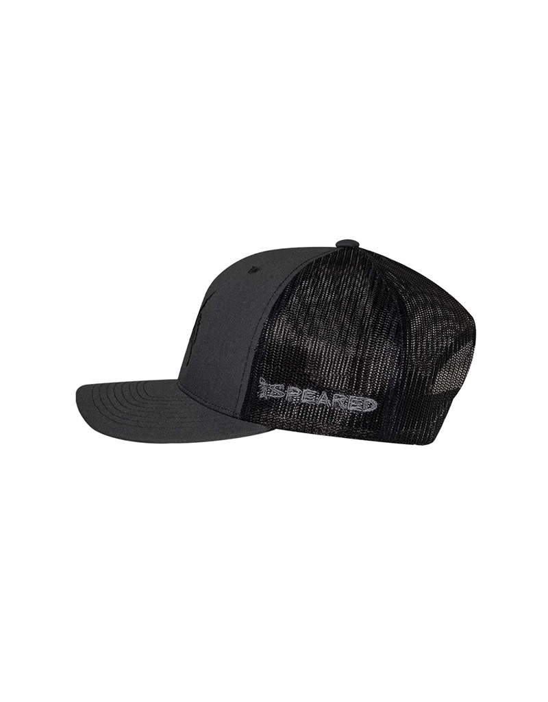 Born of Water Speared Bullseye Hat -Charcoal/Black