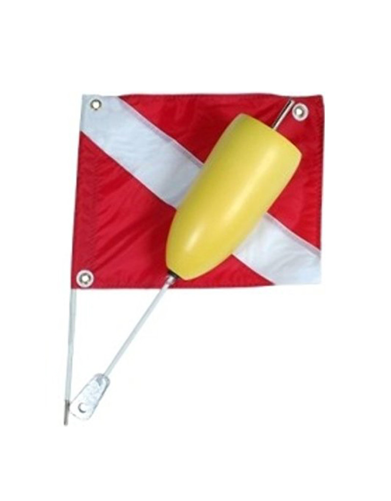Marine Sports Mfg. Flag Torpedo Float & Flag - Marine Sports