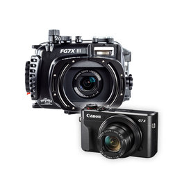 Fantasea FG7X III Housing / Canon G7X Mark III Camera Set