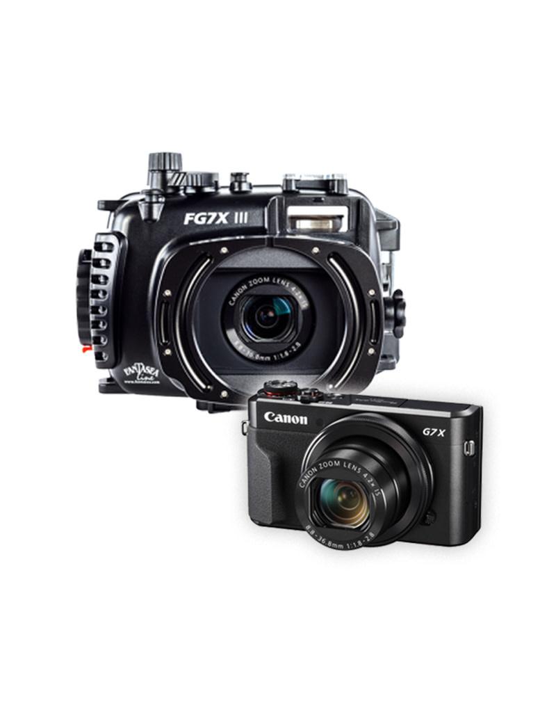 Fantasea FG7X III Housing / Canon G7X Mark III Camera Set