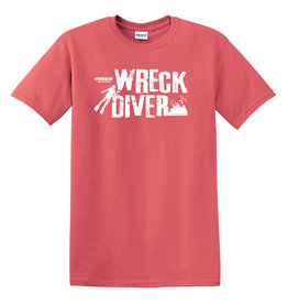 Stoked on Salt SOS Wreck Diver Tshirt