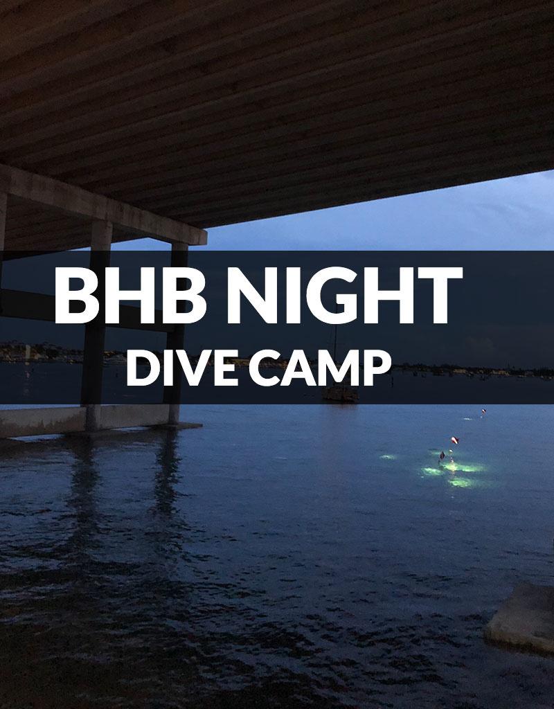 Force-E Scuba Centers Certified Diver BHB Night Dive Camp