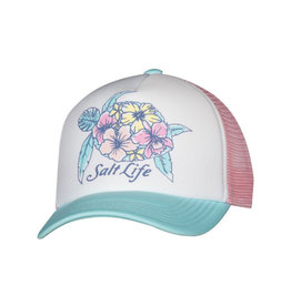 Saltlife LLC Salt Life Turtle Blossom Youth Trucker Hat