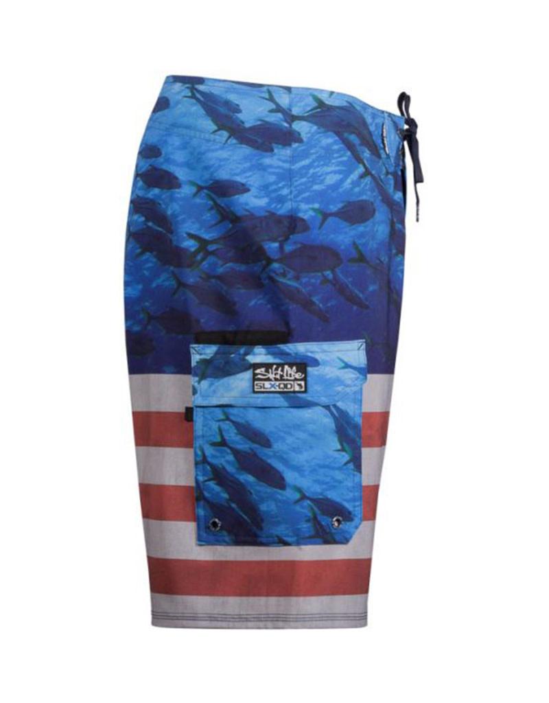 Saltlife LLC SaltLife Respect Fishing Boardshorts