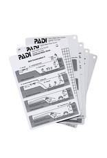 PADI PADI Confined Water Aquatic Cue Cards (6)