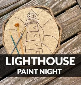 Stoked on Salt Lighthouse Paint Night