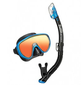 Tusa Tusa Powerview Mask & Snorkel Combo - Mirrored