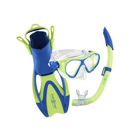 AquaLung AquaLung Urchin Jr Set Mask Fins Snorkel