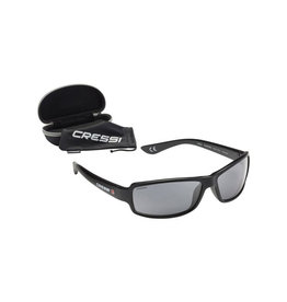 Cressi Cressi Ninja Floating Sunglasses Black Dark Lens