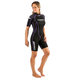 Cressi Cressi Tortuga 2.5mm Womens Shorty Wetsuit