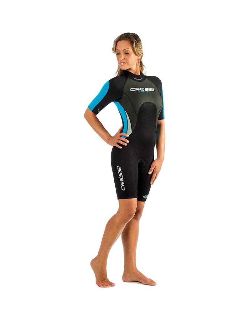 Cressi Cressi Tahiti 2.5mm Womens Shorty Wetsuit