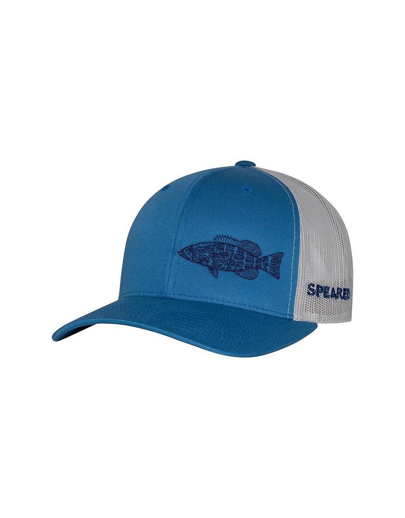 Born of Water Born of Water Speared Black Grouper Trucker Hat