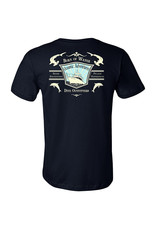 Born of Water Oceanic Adventures Dive Outfitters Navy T-Shirt