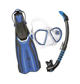AquaLung AquaLung Mask/Fins/Snorkel Duetto Set