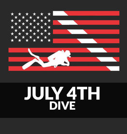 Force-E Scuba Centers Fourth of July Dive and Fireworks