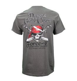 US 1 Trading Co US 1 T-Shirt SS Skull & Sword Flag