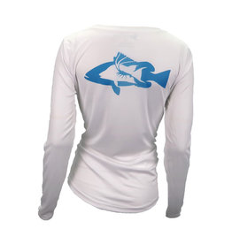 3rd ReefLine 3rd Reef Line White Abaco with Teal Diver