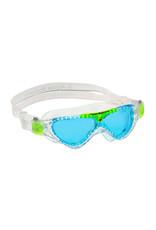 AquaLung Aqua Sphere Vista Jr Goggle Blu/Trans/Grn