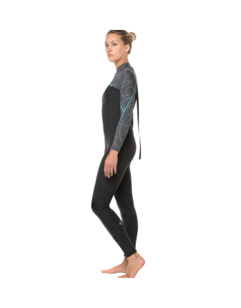 Bare Bare Womens 5mm Elate Full Wetsuit