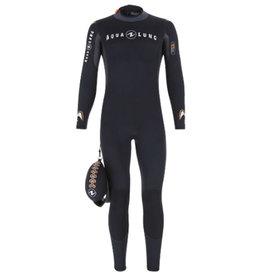 AquaLung Aqua Lung Mens Dive Wetsuit 5.5 Blk/Org