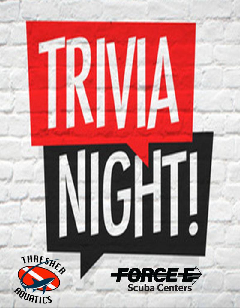 Force-E Scuba Centers Force-E Trivia Night