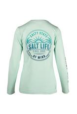 Saltlife LLC Saltlife Sunrise Palms LS SLX Ladies Perf