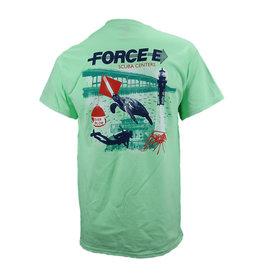 Harbor Designs Harbor Designs Force-E Poster Tshirt