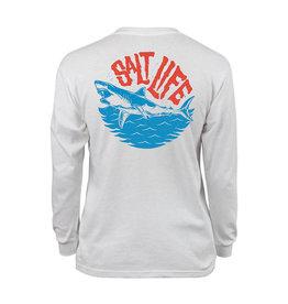 Saltlife LLC Saltlife Chompers LS Youth Tee