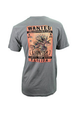 The Duck Company T-shirt Wanted Lionfish