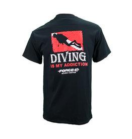 Ocean Zones Ocean Zones Diving Addiction Tshirt