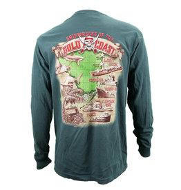 US 1 Trading Co US1 LS Shipwreck T-Shirt