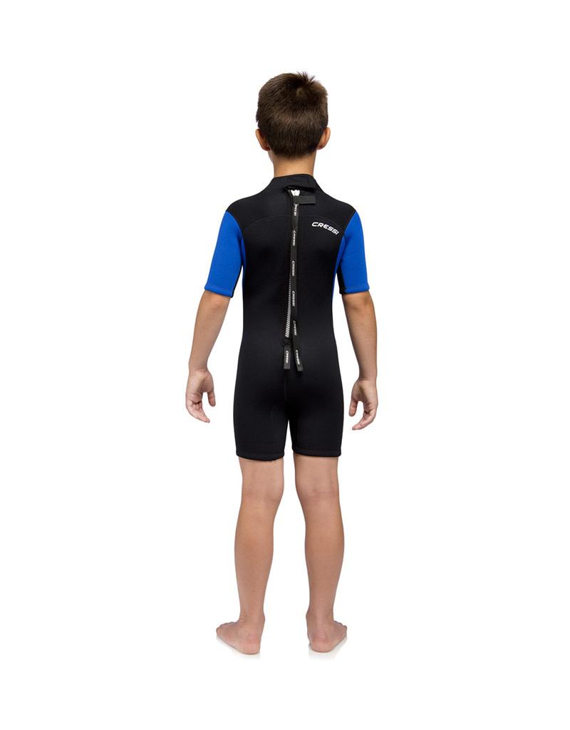 Cressi Cressi Med X Boys Shorty Wetsuit 2.5mm Blk/Blu